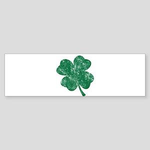 St Patrick's Shamrock Bumper Sticker