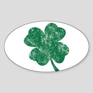 St Patrick's Shamrock Sticker