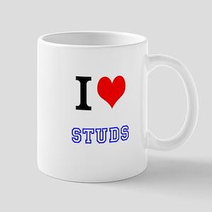 I Love Studs Mug