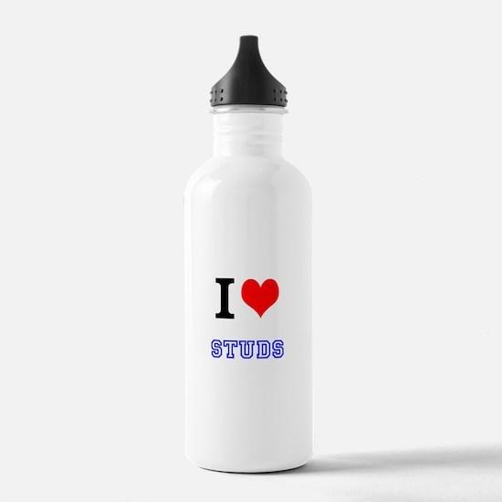 I Love Studs Water Bottle