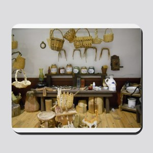 Basket Weaving Room Mousepad