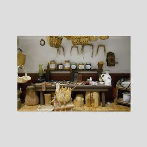 Basket Weaving Room Rectangle Magnet