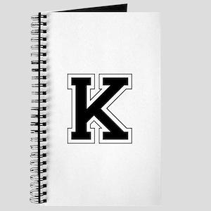 Collegiate Monogram K Journal