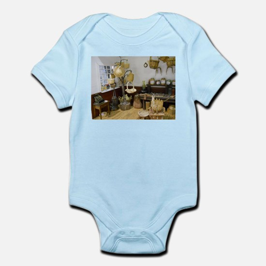 Basket Buying Doll House Room Body Suit
