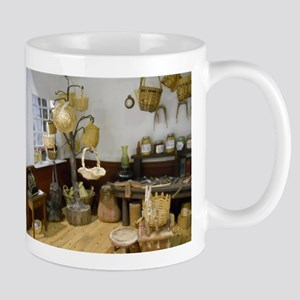 Basket Buying Doll House Room Mug