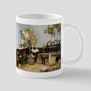 Basket Buying Doll House Room Mug