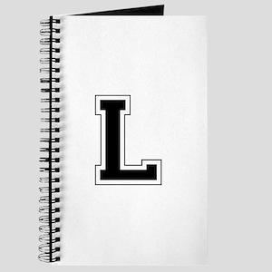 Collegiate Monogram L Journal