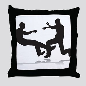 Fighters Throw Pillow