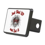Shut UP and Eat It Rectangular Hitch Cover