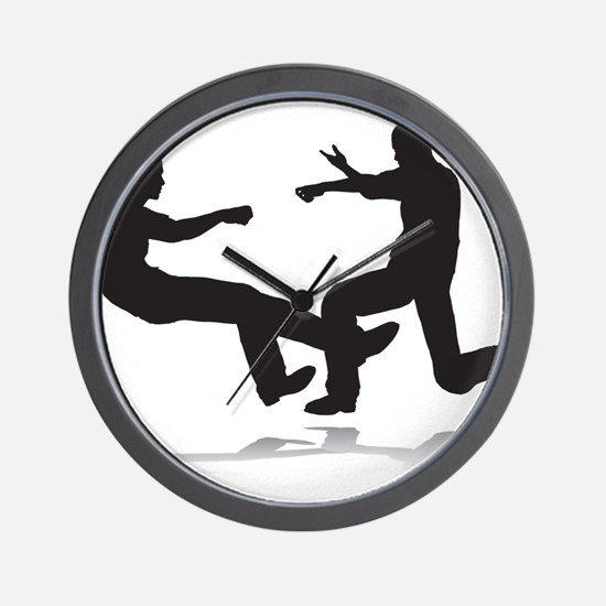 Fighters Wall Clock