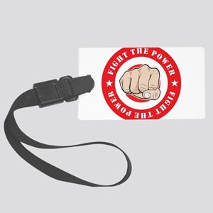 Fight The Power Luggage Tag