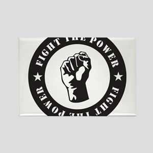 Protest Rectangle Magnet