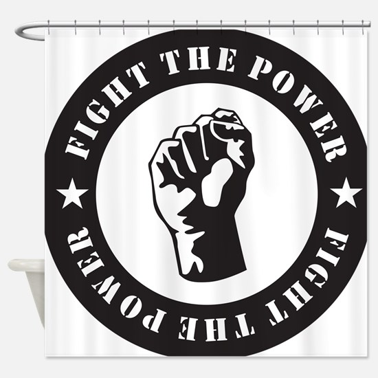 Protest Shower Curtain