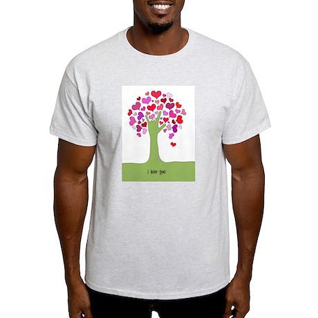 I Love You Tree T-Shirt