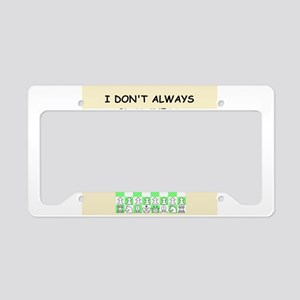 CHESS License Plate Holder