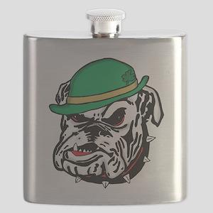 Irish Bulldog Flask