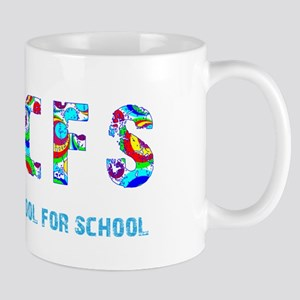TCFS Too Cool For School 70s Mug
