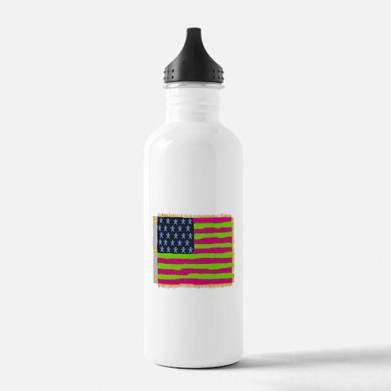 mot-flag 1 Water Bottle