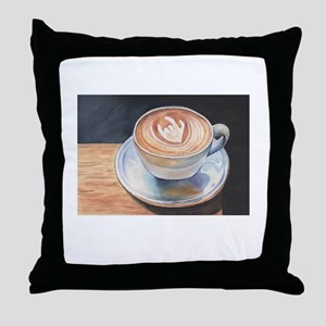 I Love You Coffee #2 Throw Pillow