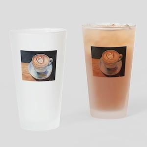 I Love You Coffee #2 Drinking Glass