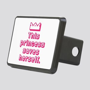 This Princess Saves Herself Hitch Cover