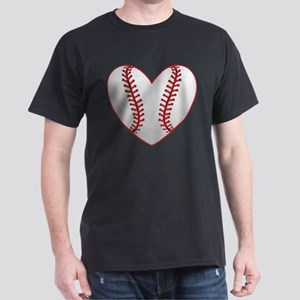cute Baseball Heart T-Shirt