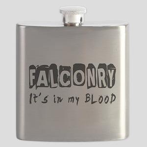 Falconry Designs Flask