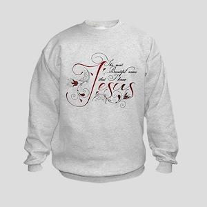Beautiful name of Jesus Sweatshirt