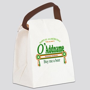 St Patricks Day Buy Beer Canvas Lunch Bag