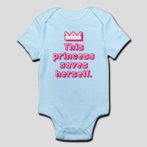 This Princess Saves Herself Body Suit