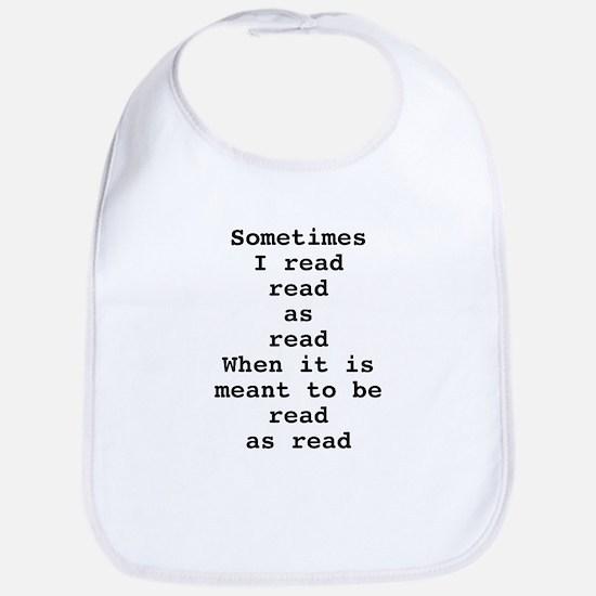 Read read as read Bib