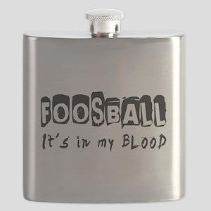 Foosball Designs Flask
