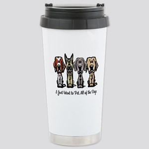 I Just Want to Pet All of the Dogs Travel Mug