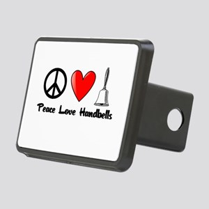 Peace, Love, Handbells Hitch Cover