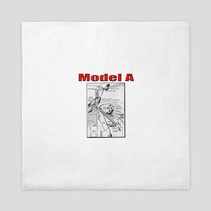 Model A Controls Queen Duvet