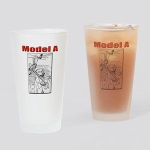 Model A Controls Drinking Glass