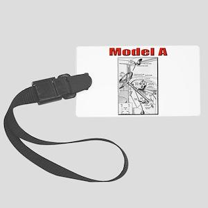 Model A Controls Luggage Tag