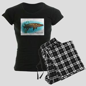 Muskellunge Women's Dark Pajamas