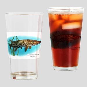 Muskellunge Drinking Glass