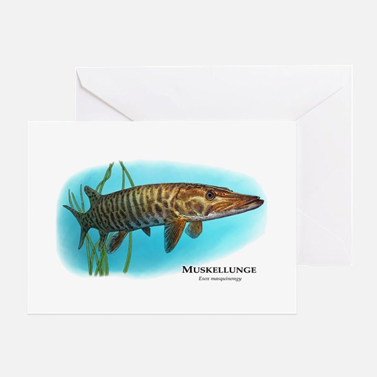 Muskellunge Greeting Card