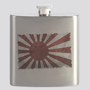 Japanese Rising Sun Flag Flask