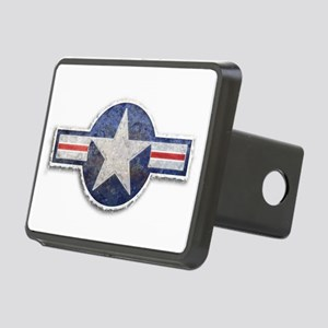 USAF US Air Force Roundel Rectangular Hitch Cover