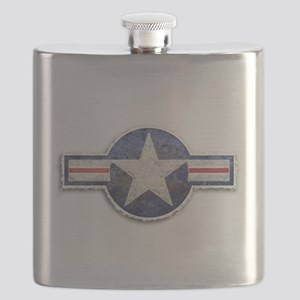 USAF US Air Force Roundel Flask