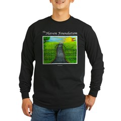 Revised Black Haven Long Sleeve T-Shirt