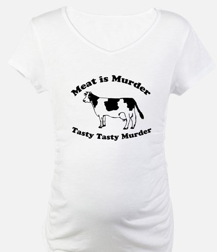 Meat is Murder Tasty Tasty Murder Shirt