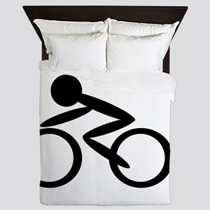 Cycling Queen Duvet