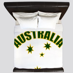 AUSTRALIASOUTHERNSTARyellow King Duvet