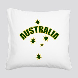 AUSTRALIASOUTHERNSTARyellow Square Canvas Pill