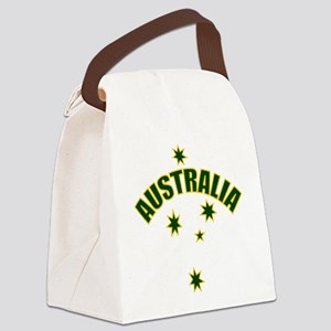 AUSTRALIASOUTHERNSTARyellow Canvas Lunch Bag