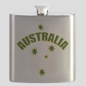 AUSTRALIASOUTHERNSTARyellow Flask